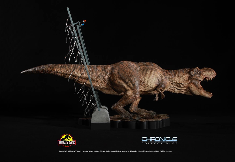 Jurassic Park T Rex Breakout Diorama 002