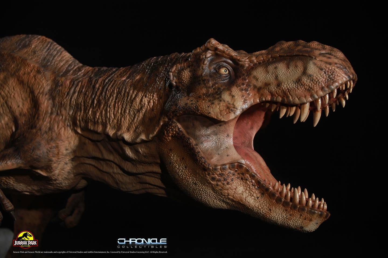 Jurassic Park T Rex Breakout Diorama 004