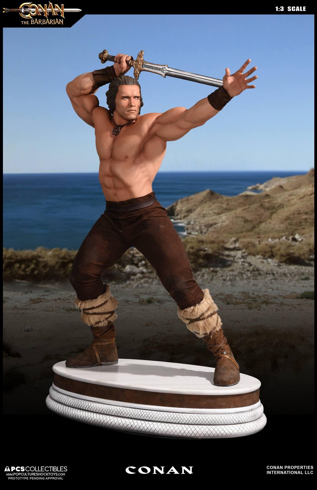 PCS Conan Statue 002
