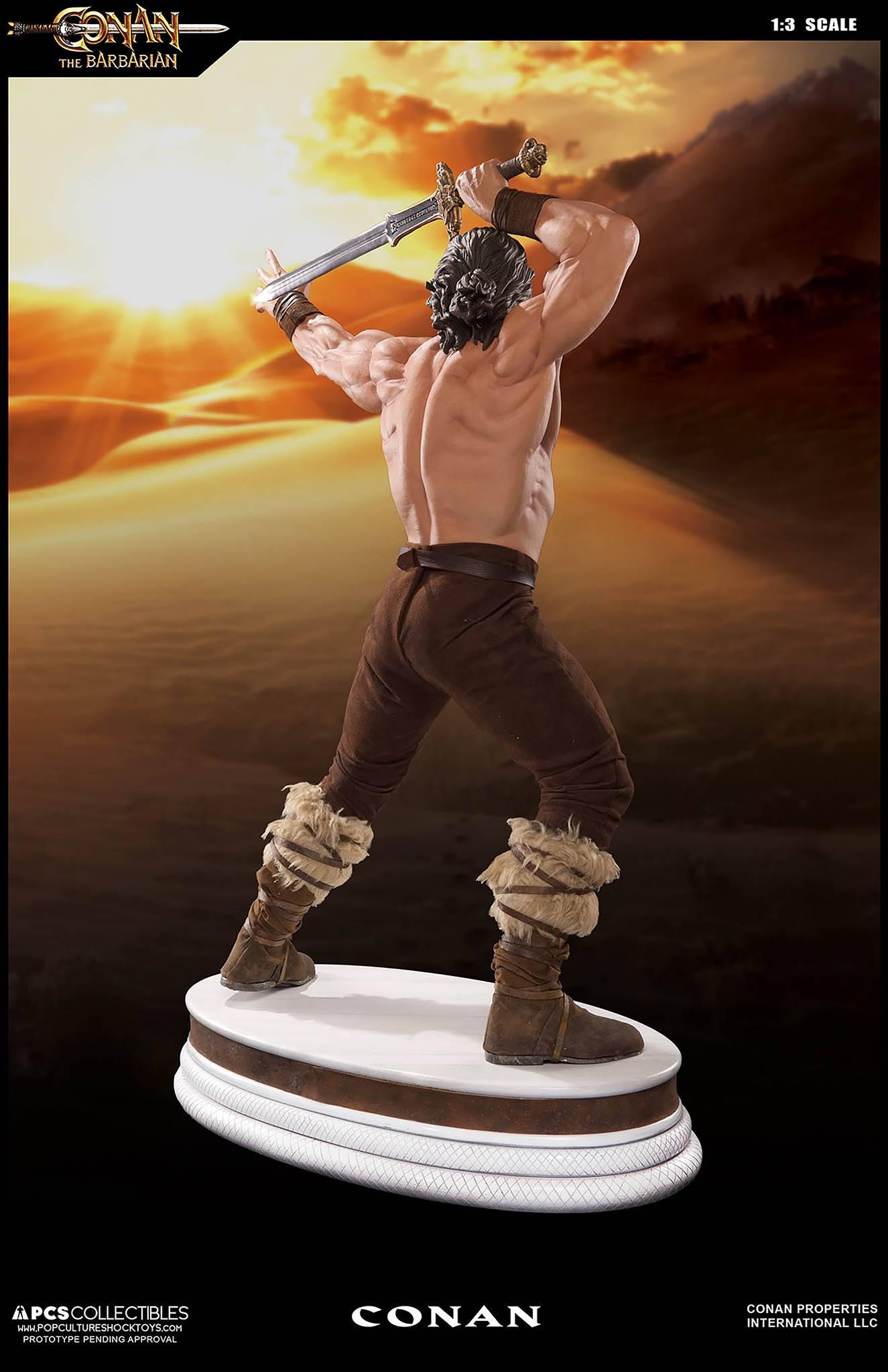 PCS Conan Statue 003