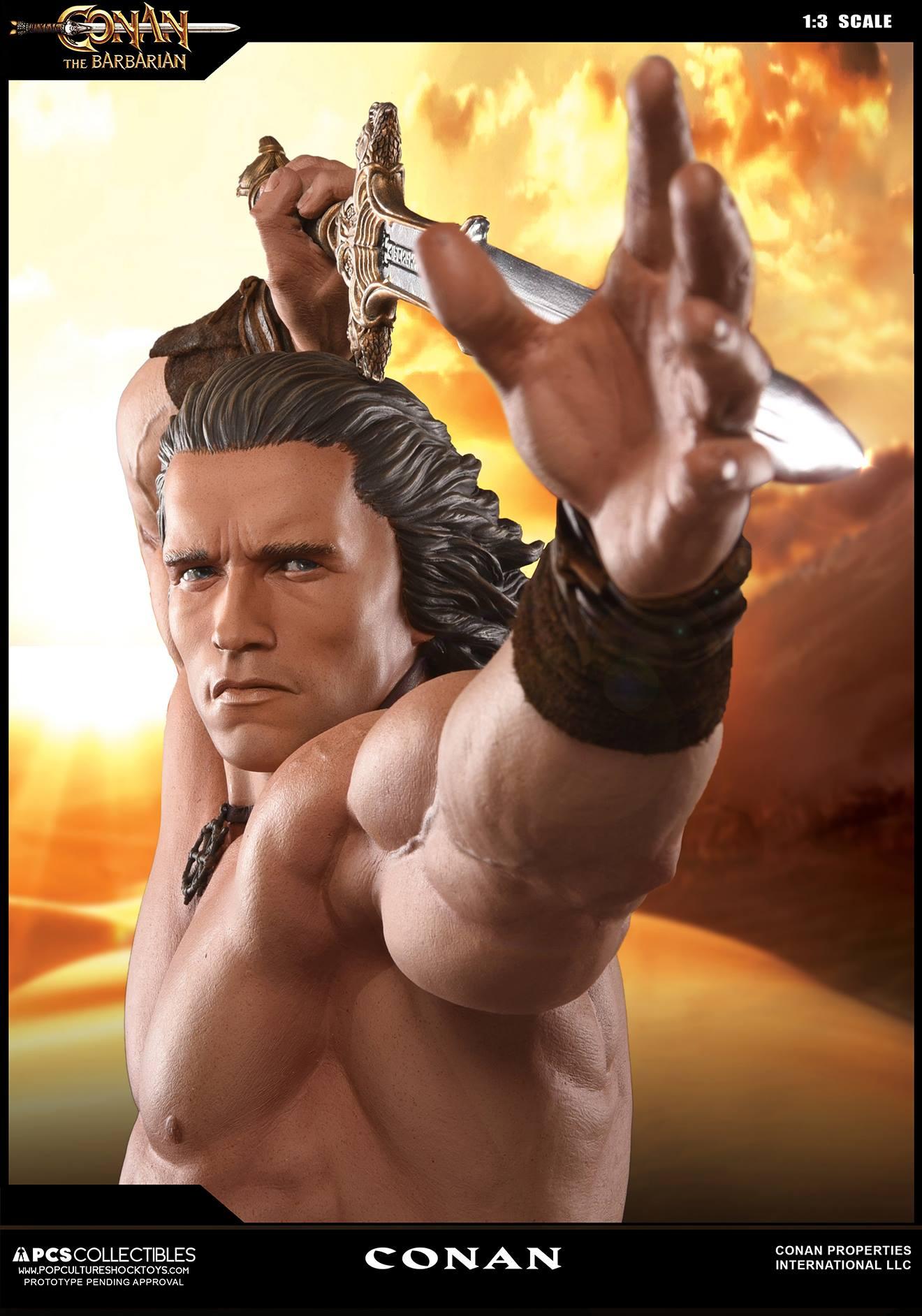 PCS Conan Statue 005