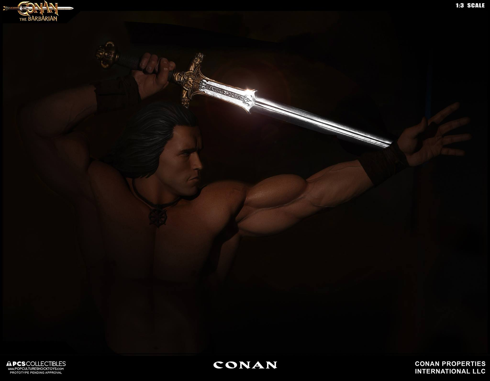 PCS Conan Statue 009