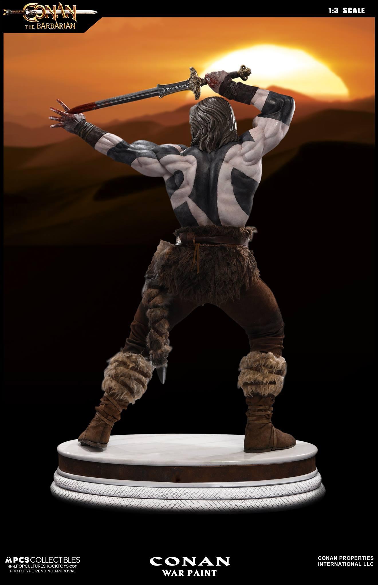 PCS Conan Statue Warpaint 003