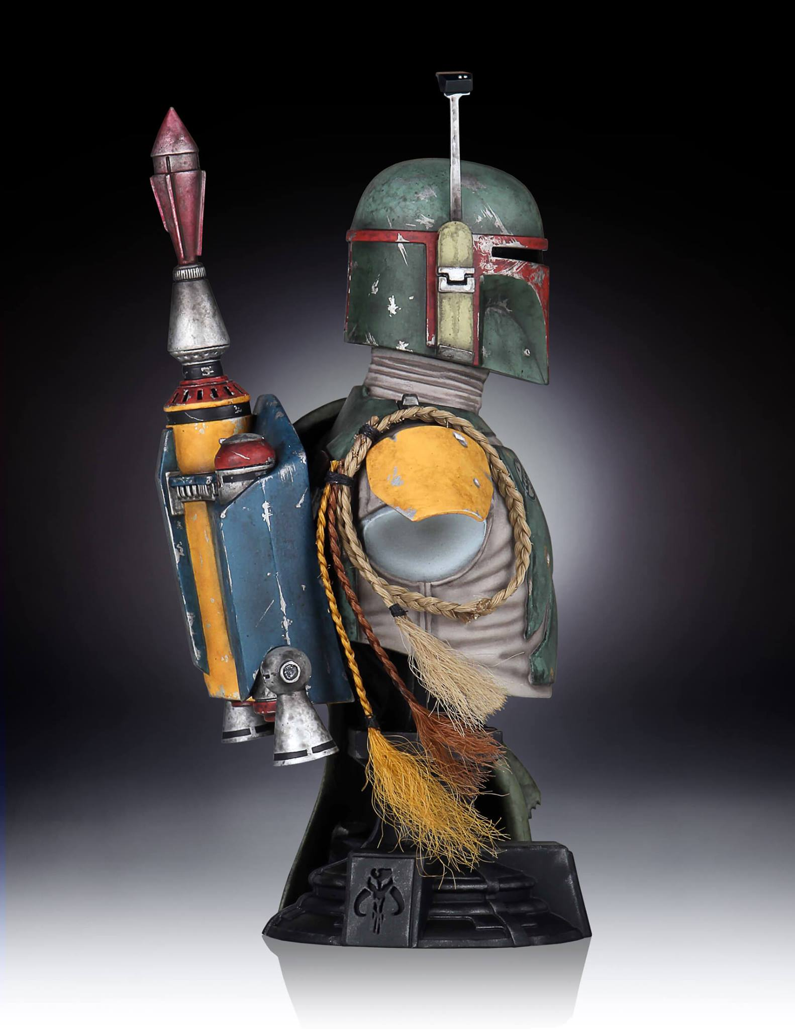 Gentle Giant Boba Fett Mini Bust 003
