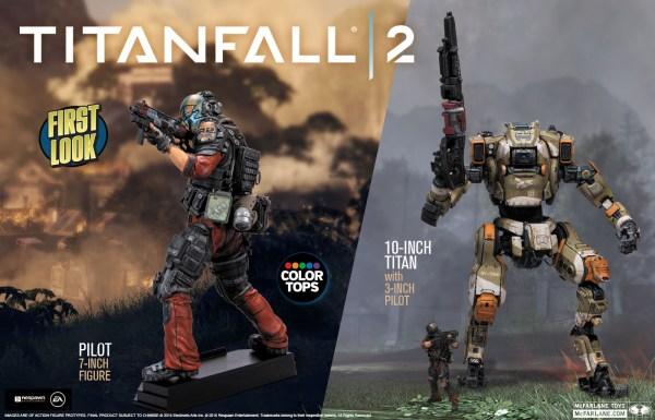 Titanfall 2 McFarlane Figures
