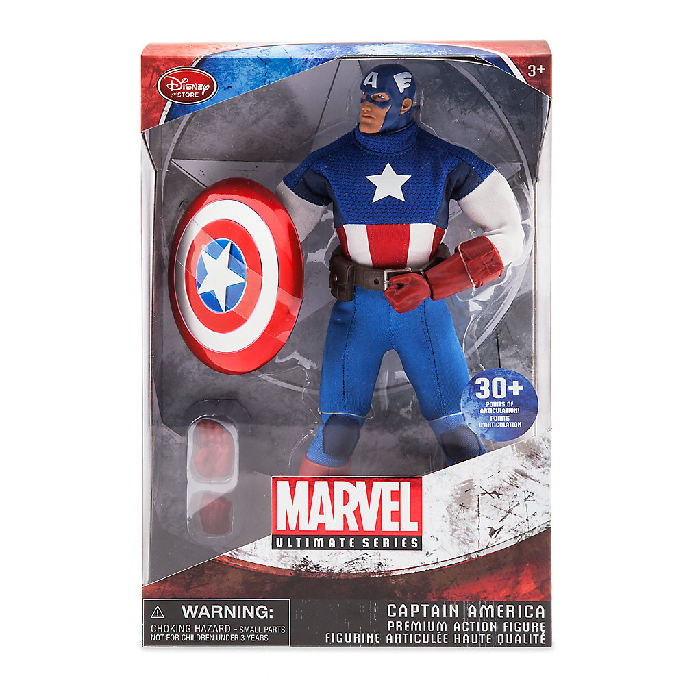 Marvel Ultimate Series Captain America 004