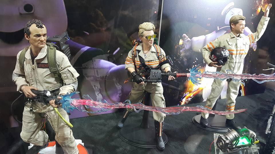 Soldier Story Ghostbusters Display 3