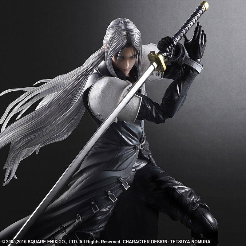 FF7 Sephiroth Play Arts Kai 005