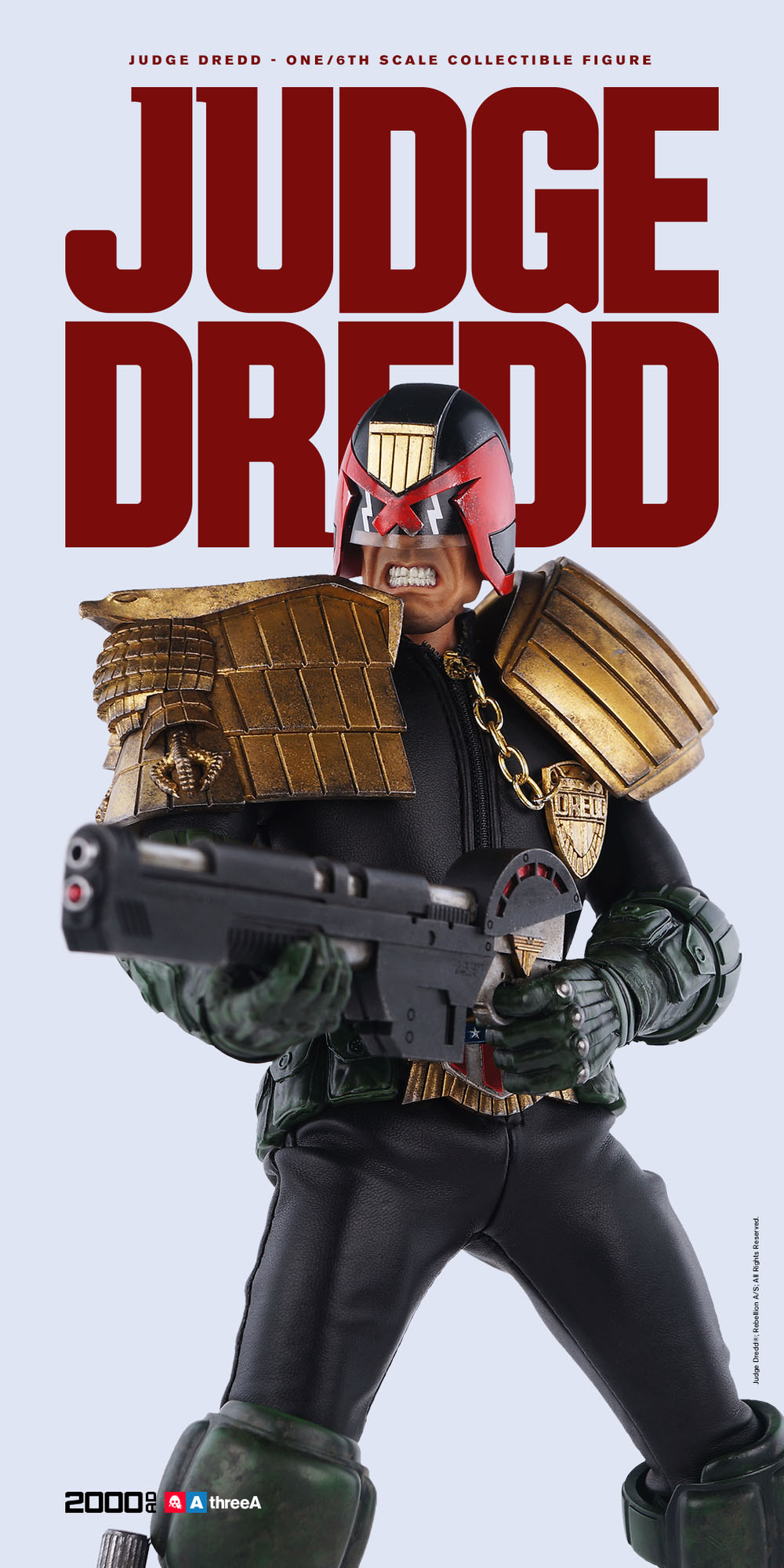 3A Judge Dredd Sixth Scale 001