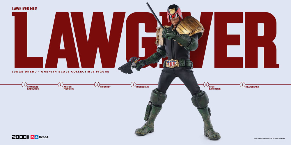 3A Judge Dredd Sixth Scale 004