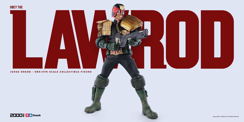 3A Judge Dredd Sixth Scale 005