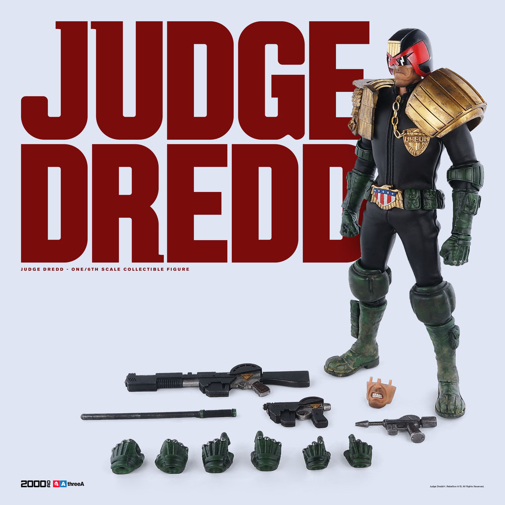 3A Judge Dredd Sixth Scale 008