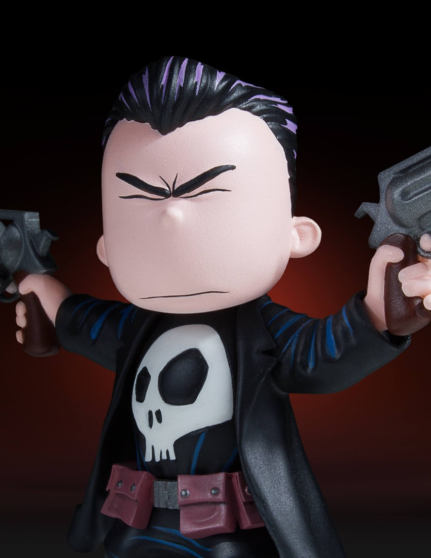 Gentle Giant Punisher Animated Statue 007