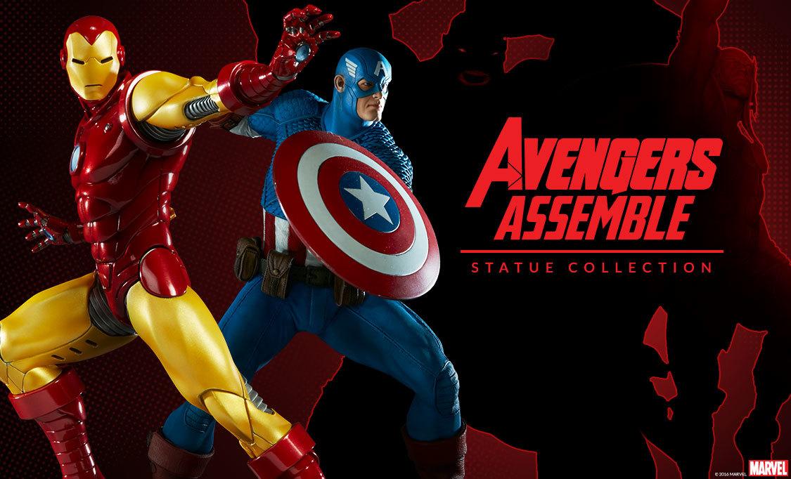Avengers Assemble Statue Preview 1