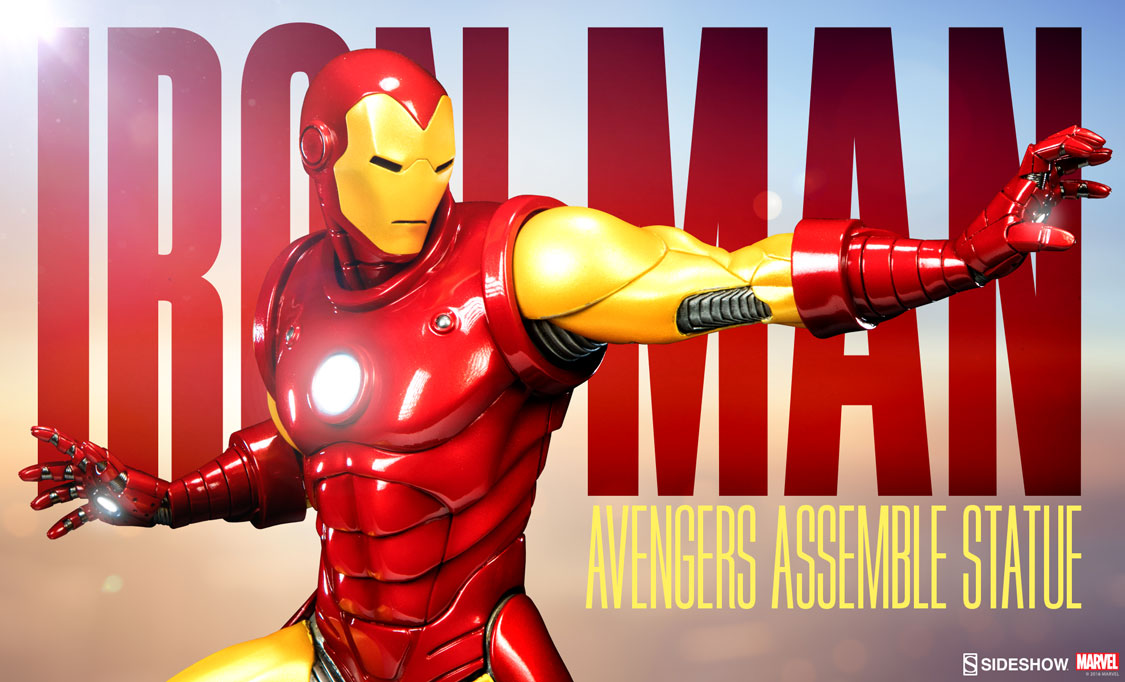 Avengers Assemble Statue Preview 2