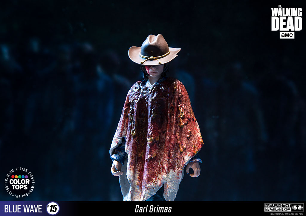 McFarlane Color Tops Carl Grimes 006