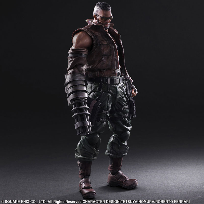 Final Fantasy VII Remake Cloud And Barret Play Arts Kai Figures The Toyark News