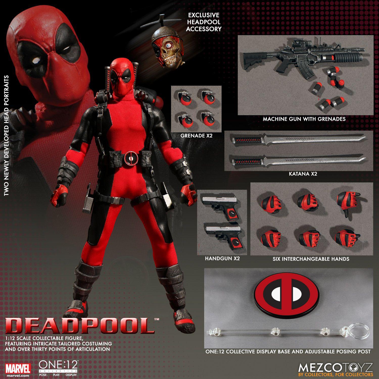 One12 Collective Deadpool Figure by Mezco  The Toyark  News