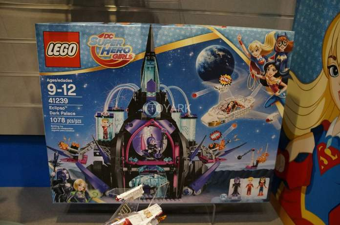 Lego Set 41239 Eclipso Dark Palace Set DC Super Hero Girls Toy Fair 2017