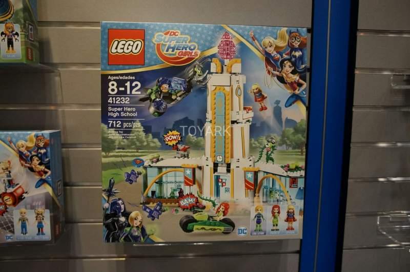 DC Super Hero Girls Lego Set 41232 High School Toy Fair 2017