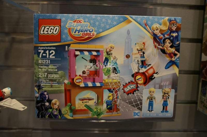 DC Super Hero Girls 41231 Lego Harley Quinn to the Rescue Set Toy Fair 2017