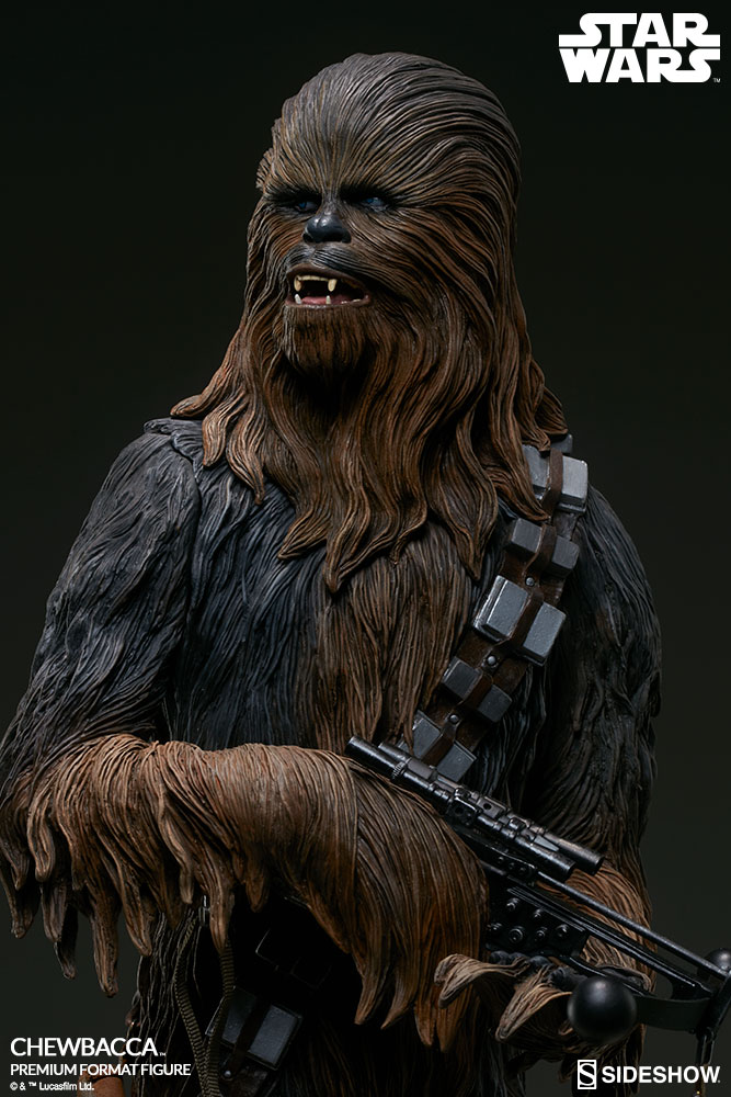 Sideshow Star Wars Chewbacca Premium Format Figure The