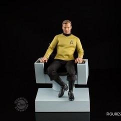 Star Trek Captains Chair Ikea Tub Covers Canada The Original Series  1 6 Scale