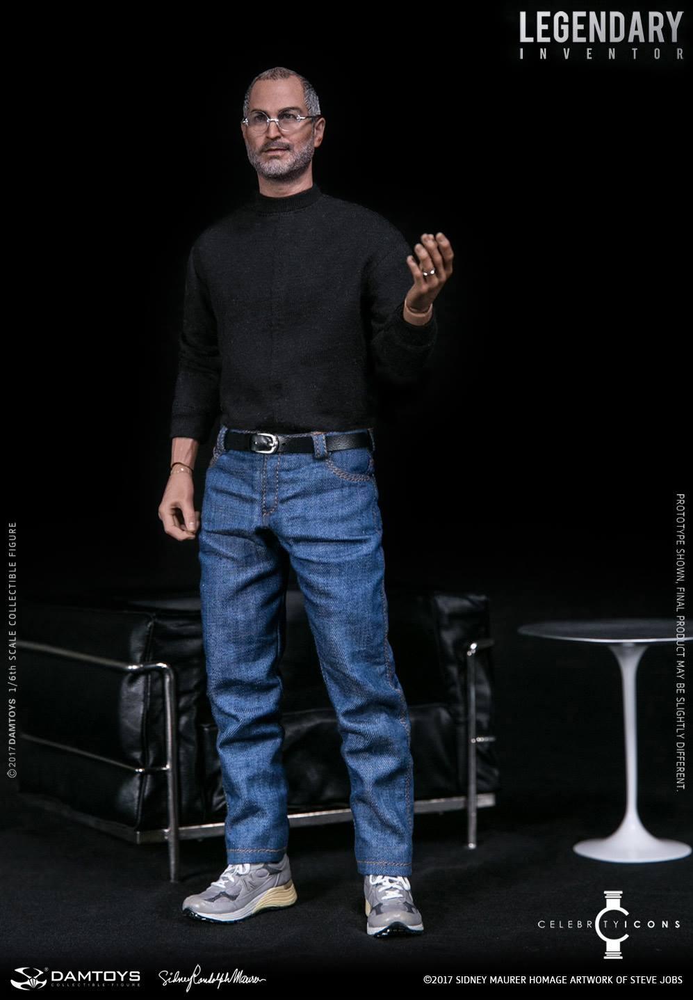 Steve Jobs Figure 16 Scale Figure by DAMTOYS  The Toyark