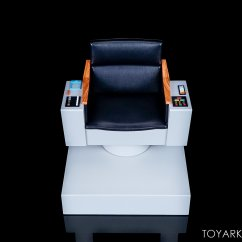 Star Trek Captains Chair Bedroom And Ottoman Qmx The Original Series 1 6 Scale Captain 39s