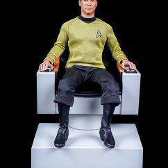 Star Trek Captains Chair Swivel Captain 39s Toyark Gallery Toy