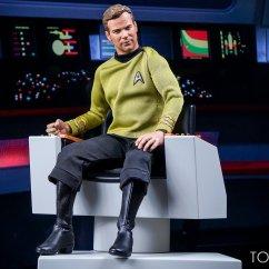 Star Trek Captains Chair Pallet Diy Captain 39s Toyark Gallery Toy