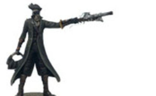 Bloodborne The Hunter Modern Icons Statue By Chronicle