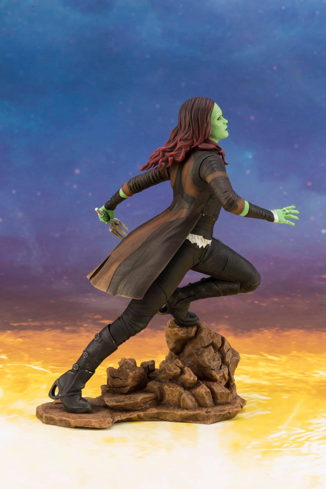 Avengers Infinity War  Gamora Statue by Kotobukiya  The