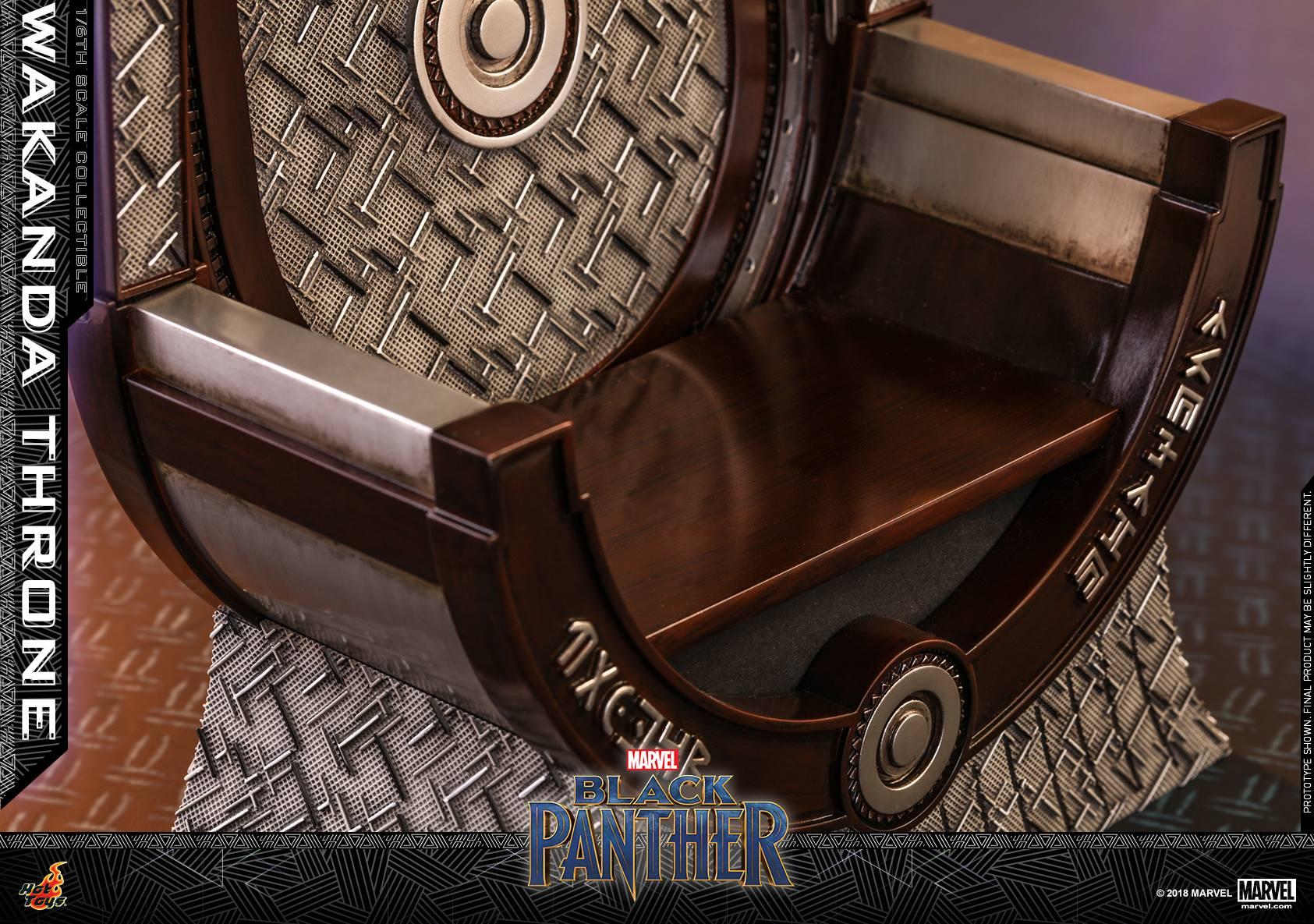 Black Panther  Wakanda Throne by Hot Toys  The Toyark  News