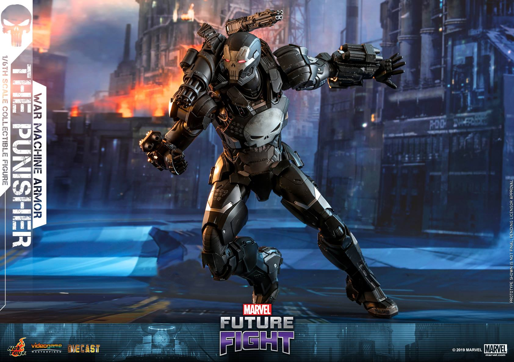 Marvel Future Fight The Punisher In War Machine Armor