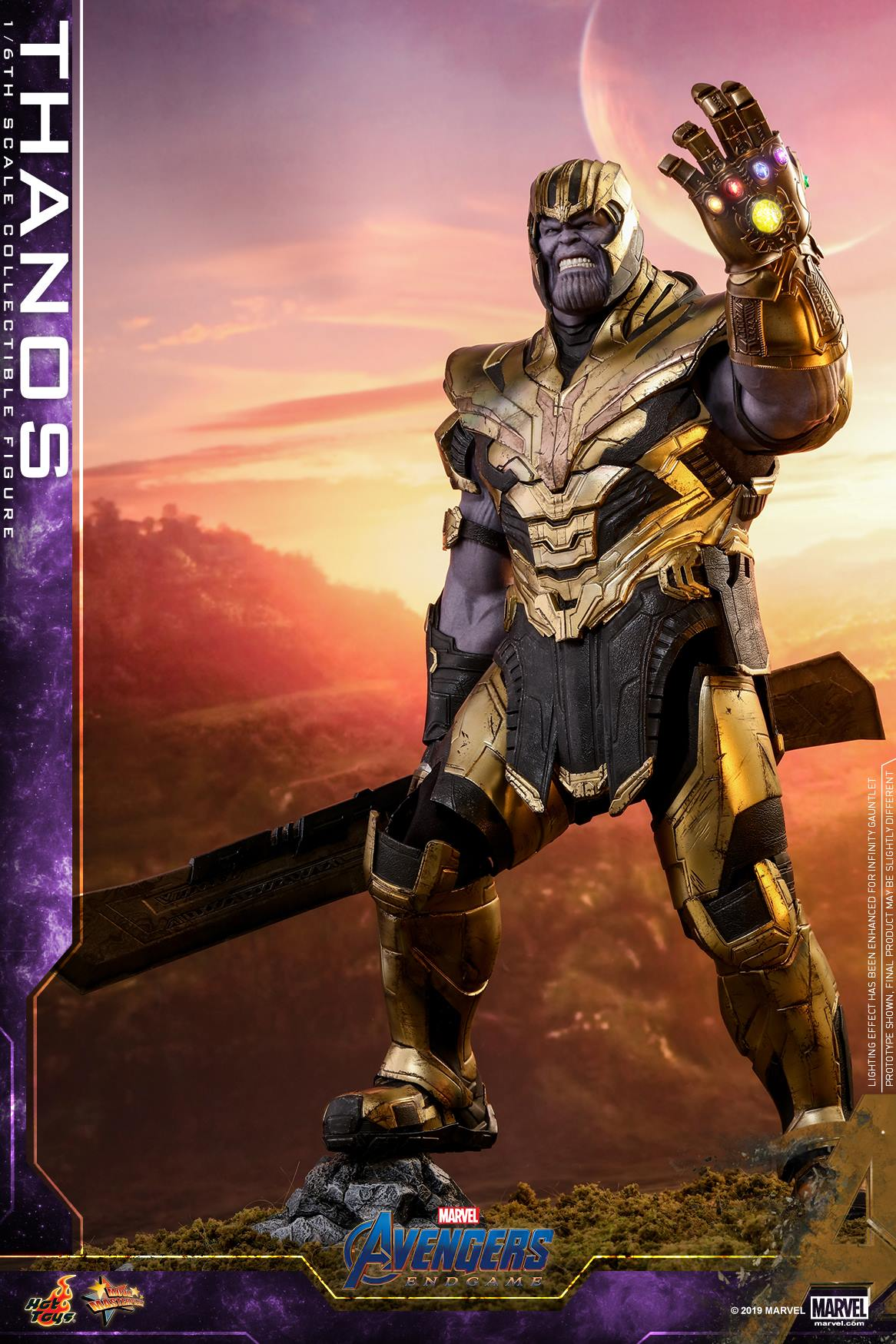 Avengers: Endgame - Iron Man Mark LXXXV and Thanos by Hot Toys - The Toyark - News