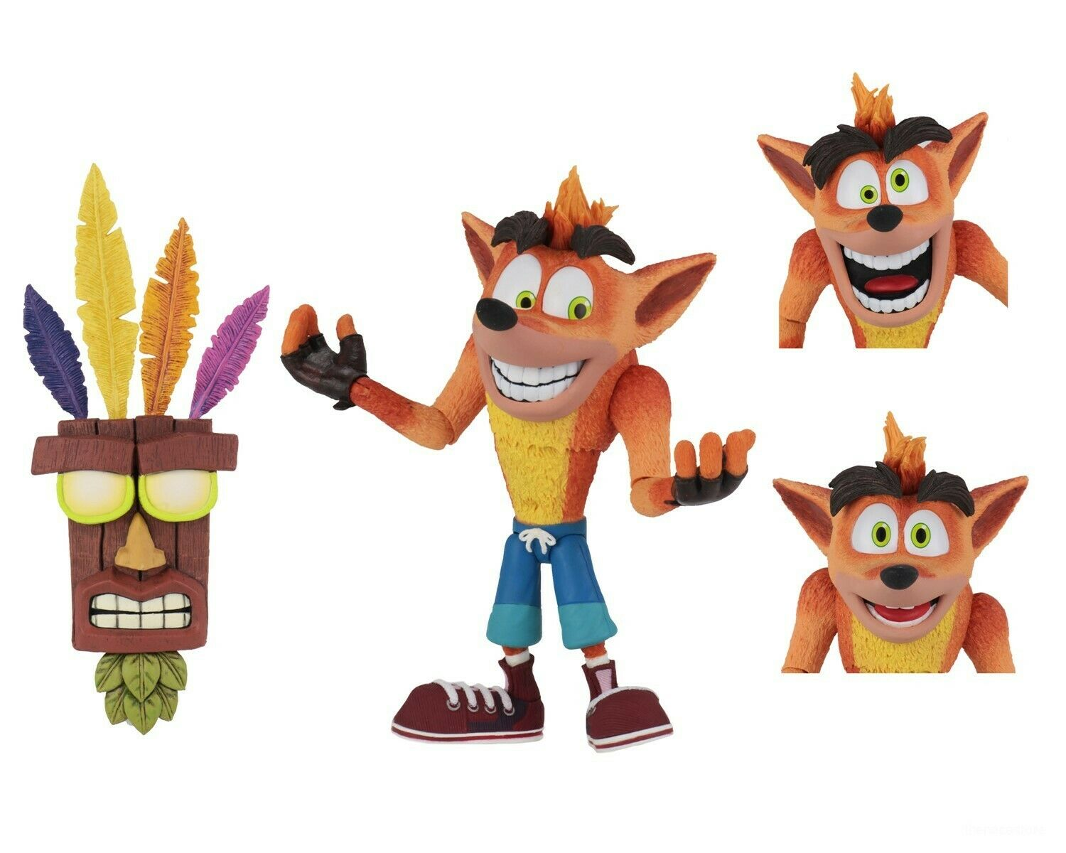 NECA Aku Aku Crash Released 005
