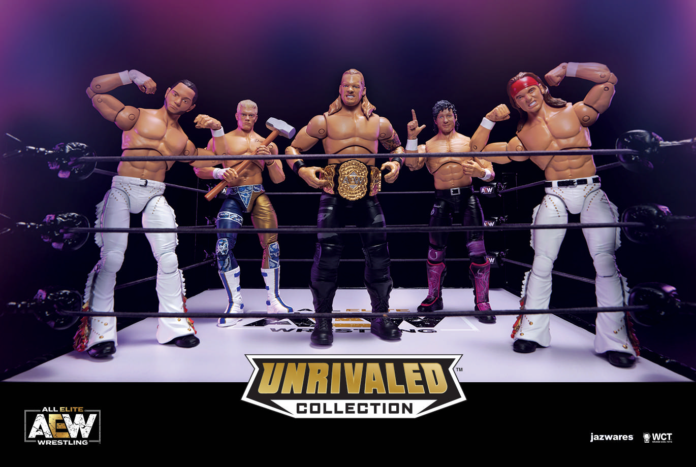 Aew Wrestling Action Figures Cheaper Than Retail Price Buy Clothing Accessories And Lifestyle Products For Women Men