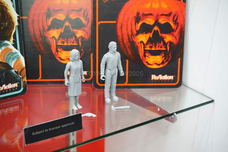 2020 Halloween Michael Myers Figure Super7 Announces Michael Myers and Laurie Strode ReAction Figures
