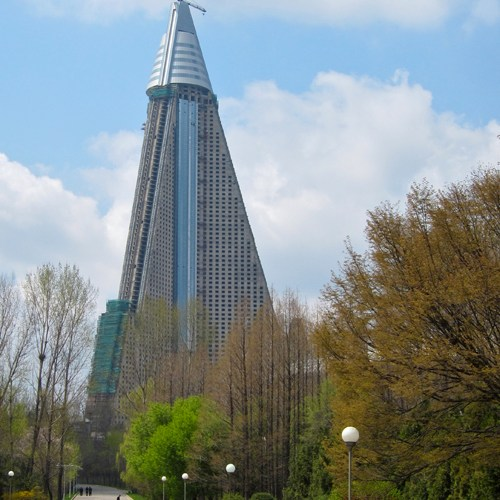 فندق Ryugyong (ريو جيونغ) - بيونج يانج ، كوريا الشمالية