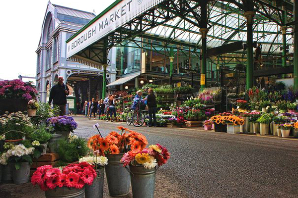 سوق بورو ماركت الأقدم بين أسواق بريطانيا