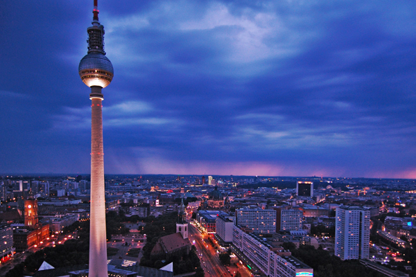 برج الإذاعة والتلفزيون في برلين