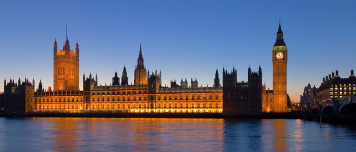 قصر ويستمنيستر وبرج الساعة، لندن