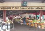 مدخل سوق الملكة فيكتوريا في ملبورن