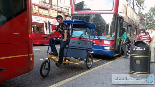التوك توك في لندن