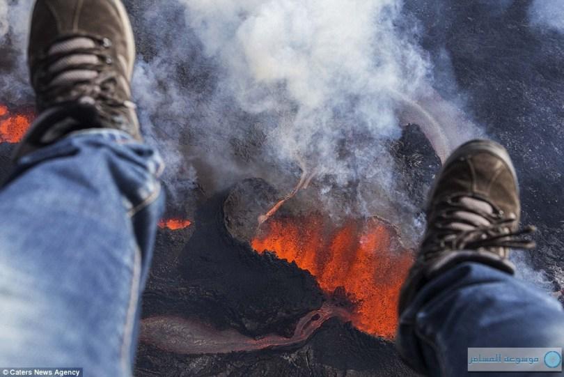 بركان منطقة باردابونجا أيسلندا