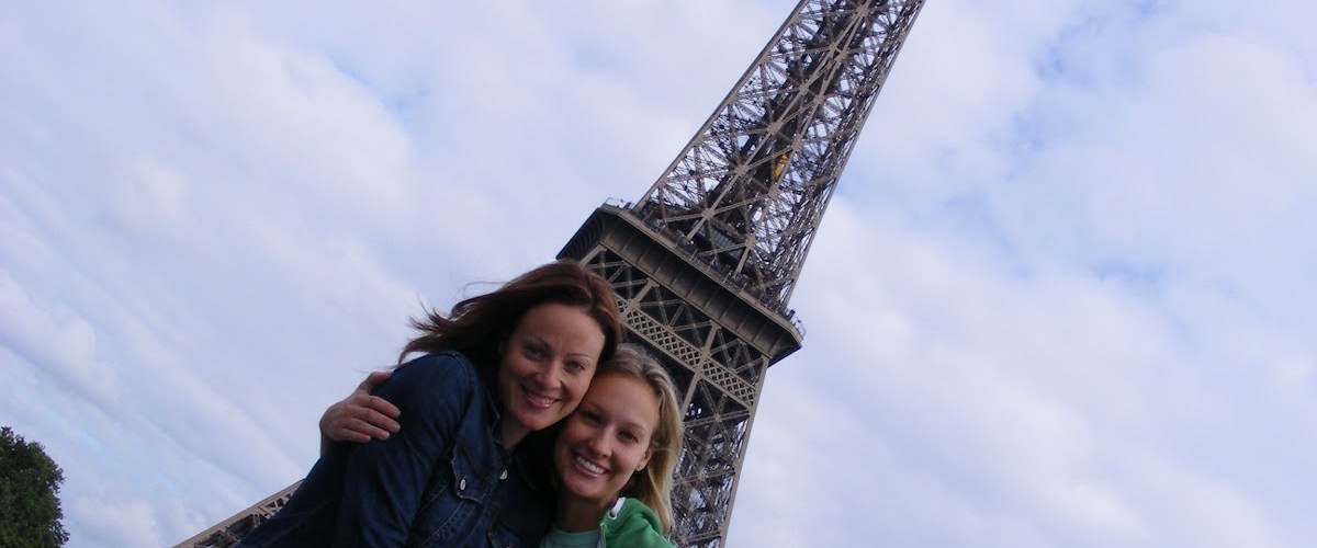 سيلفي برج ايفل