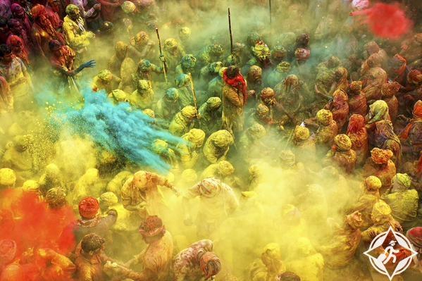 الصورة الفائزة انوراج كومار من الهند ، بأغلى جائزة تصوير بالعالم
