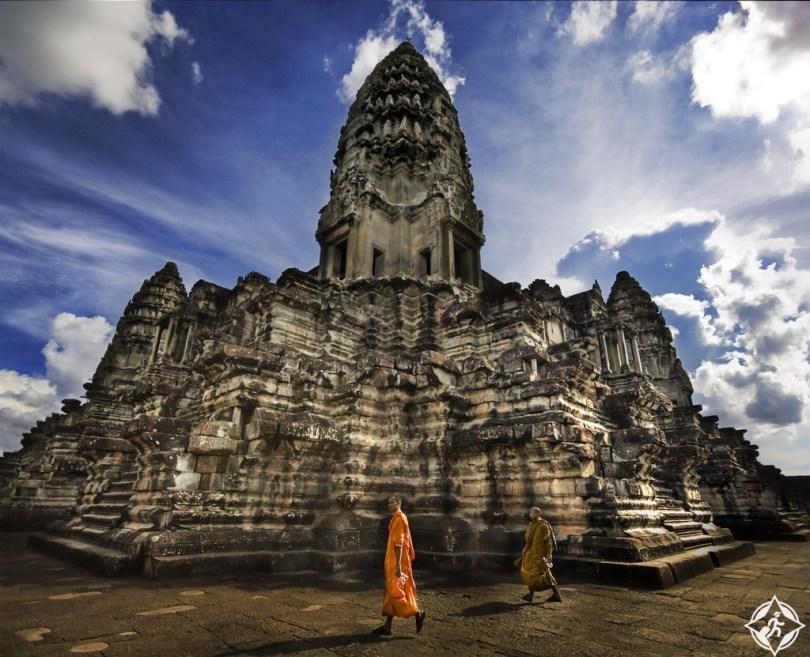 أنغكور وات أفضل مكان للسفر في العالم