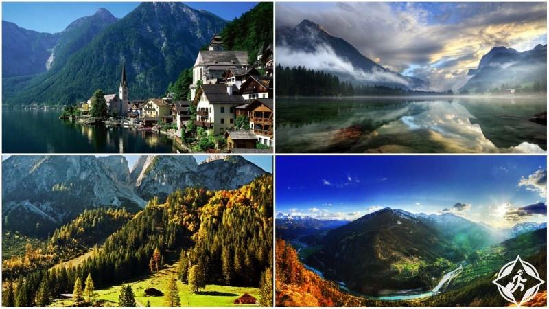 الأماكن السياحية في النمسا